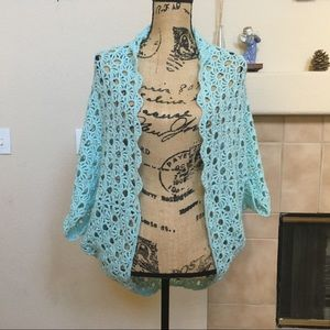 Crocheted Shrug